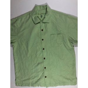 Tommy Bahama silk shirt size large.